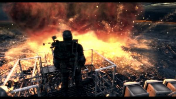 Moscow burning
